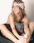 Hot teen packing up! from Andi Pink