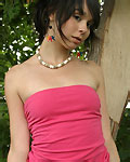 Sexy teen in a dress from Ariel Rebel