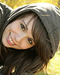 Ariel Rebel poses in the park from Ariel Rebel