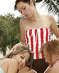 Ariel Gets Into A Hot Lesbo Threesome - Picture 5