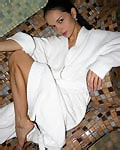 Teen nude under bathrobe from Katie Fey